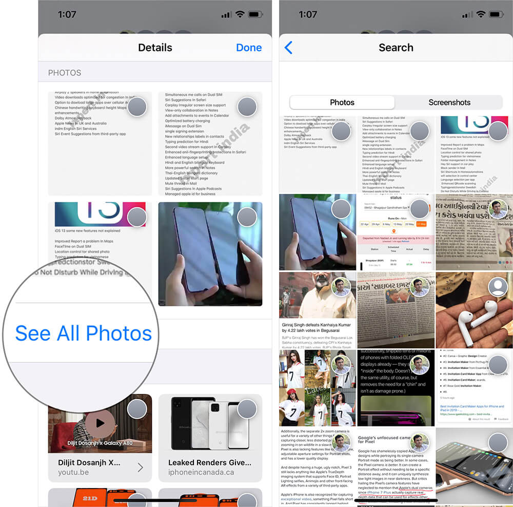 View All Photos You Sent or Received Through the Message App on iPhone or iPad