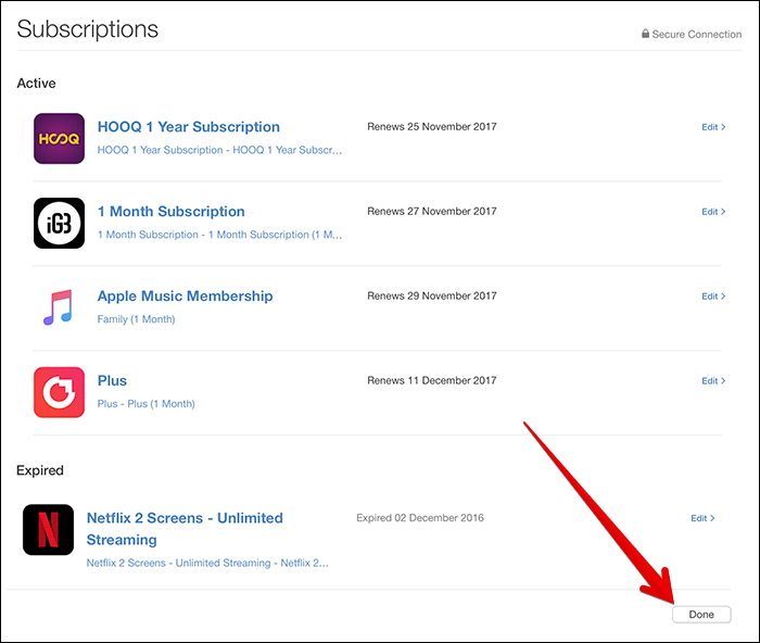 View App Store Subscriptions in iTunes on Mac or Windows PC