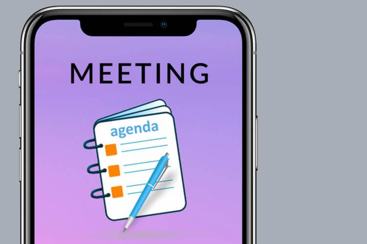 View Meeting Agenda Siri Shortcut