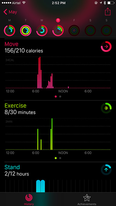 View Workout Details on iPhone