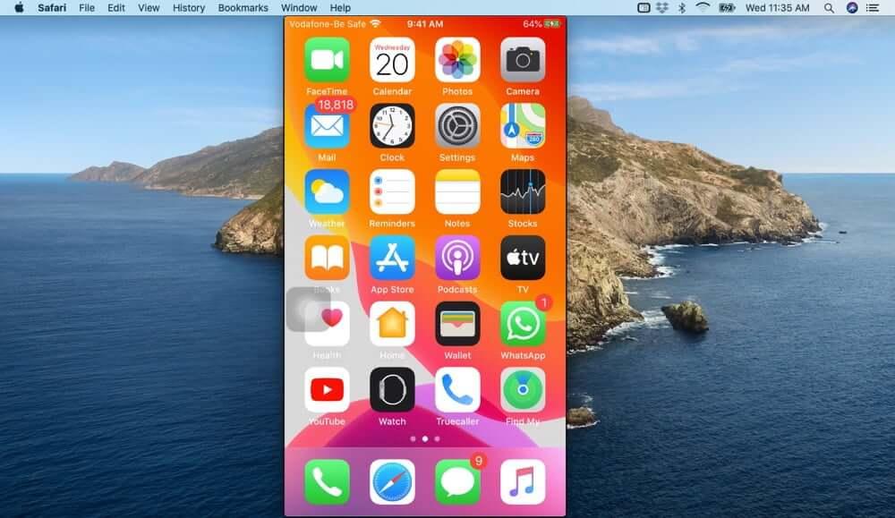 View iPhone Screen on Mac