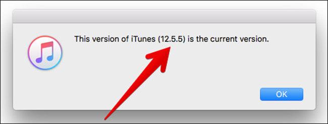 View iTunes Version on Mac