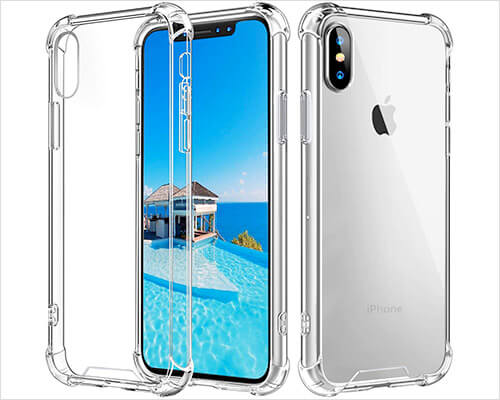 Vproof iPhone XS Max Clear Case