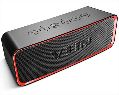 Vtin Waterproof Portable Bluetooth Speaker