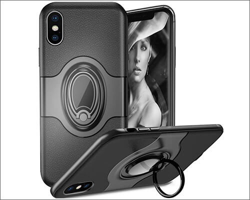 WATACHE iPhone Xs Max Ring Holder Case