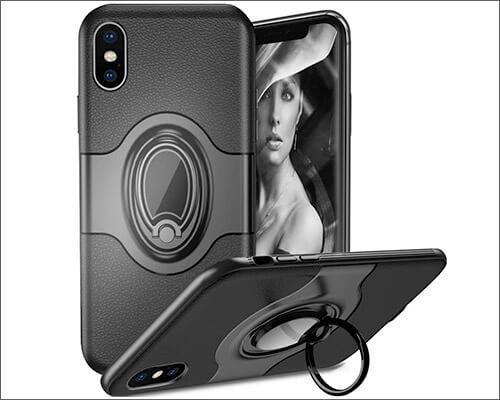 WATACHE iPhone Xs Max Ring Holder Case