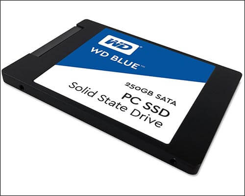 WD Blue 250GB Internal SSD for MacBook
