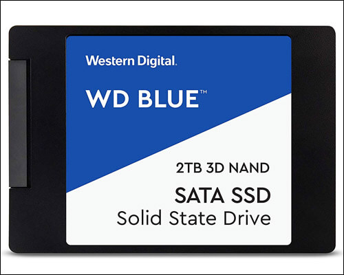 WD Blue 3D NAND 500GB PC SSD for Gaming