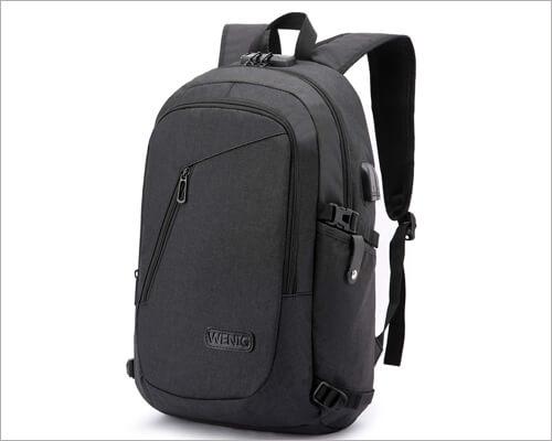 WENIG Anti Theft Laptop Backpack