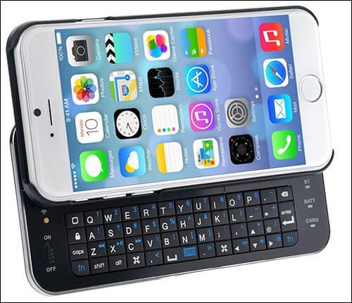 WONFAST iPhone 6-6s Keyboard Case