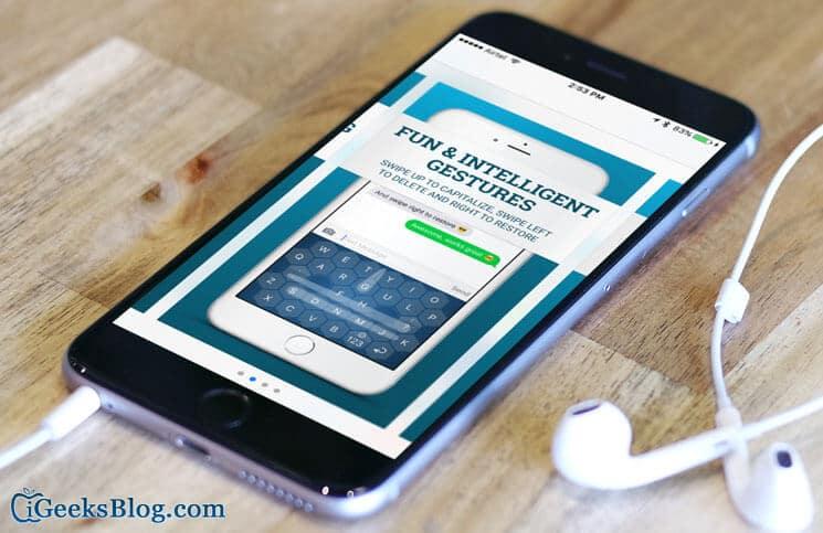 WRIO iPhone Keyboard App