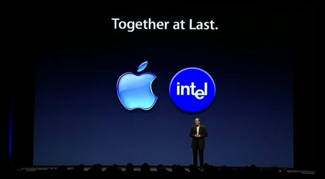 WWDC 2005, Announced Intel processors and the x86 platform