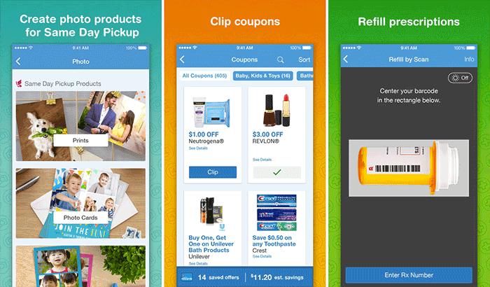 Walgreens iPhone App Screenshot