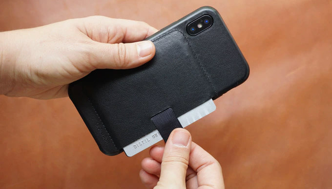 Wally iPhone X Stick On Wallet Case