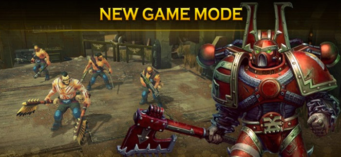 Warhammer 40,000 iPhone and iPad Turn Based Strategy Game Screenshot