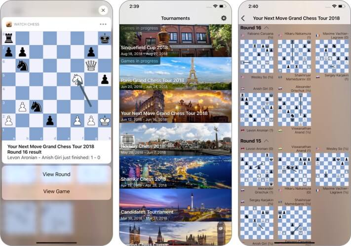 Watch Chess iOS 14 third party widgets for iPhone screenshot