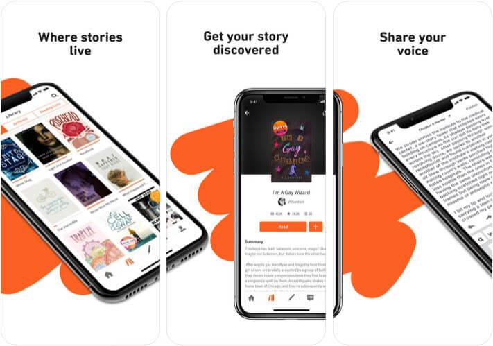 Wattpad eBook Reader iPhone and iPad App Screenshot