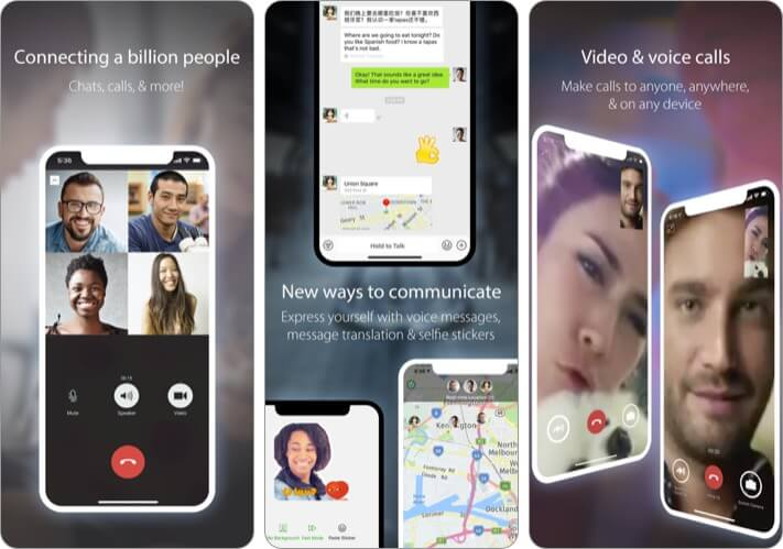 WeChat Video Chat iPhone and iPad App Screenshot