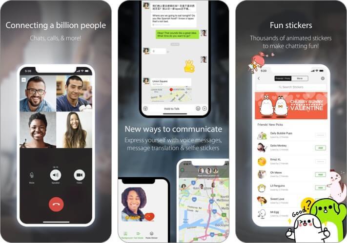 WeChat iMessage Alternative app screenshot