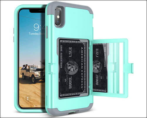 WeLoveCase iPhone Xs Max Card Holder Case