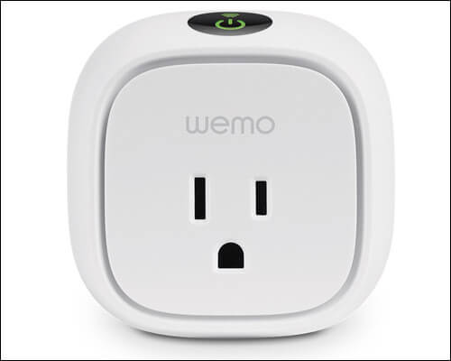WeMo Homekit Compatible Smart Plug