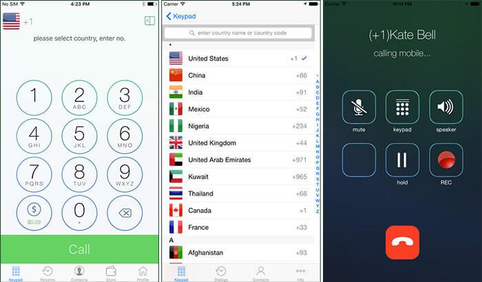 WeTalk iPad Calling App Screenshot