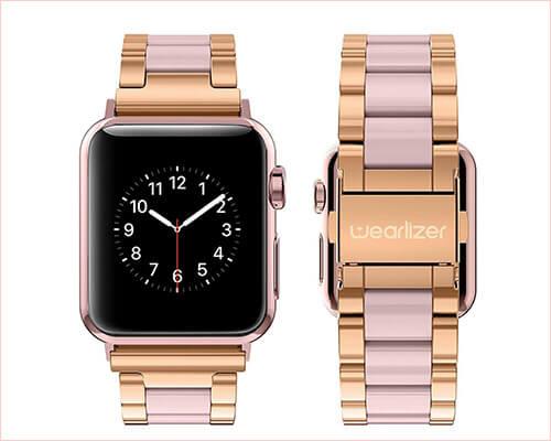Wearlizer Apple Watch Metal Wristband