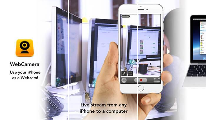 WebCamera iPhone and iPad App Screenshot