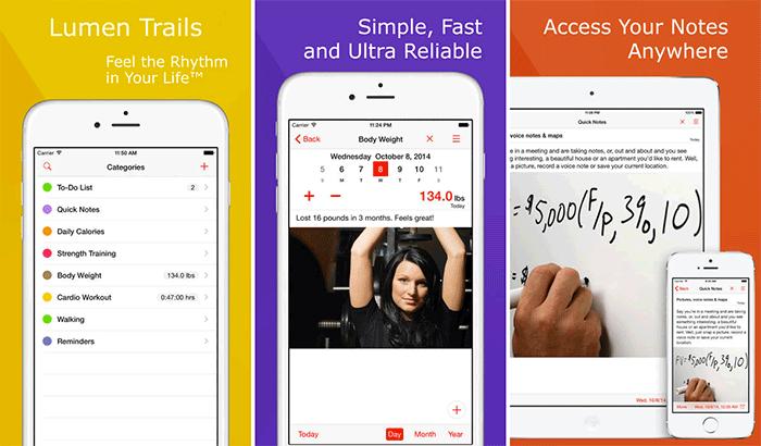 Weight Loss Tracker+ Food Diary iPhone and iPad App Screenshot