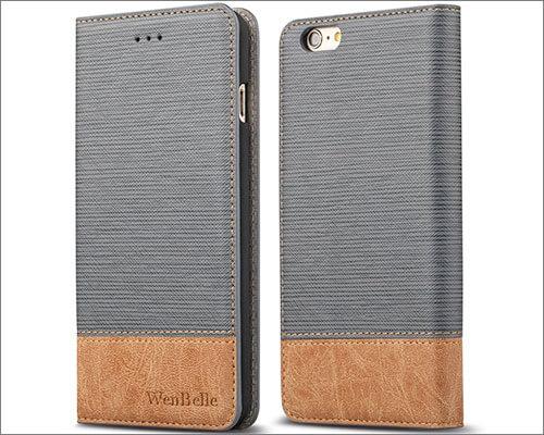 WenBelle Flip Case for iPhone 6-6s