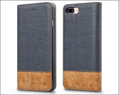WenBelle iPhone 7 Plus Folio Case