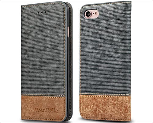 WenBelle iPhone 8 Folio Case