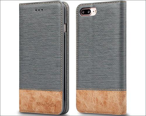 WenBelle iPhone 8 Plus Flip Case