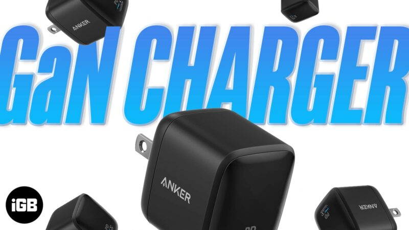 What is a GaN charger