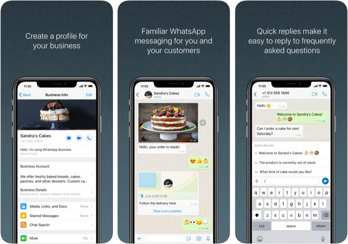 WhatsApp Business Marketer App for iPhone and iPad