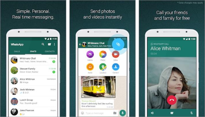 WhatsApp Messenger Android App Screenshot