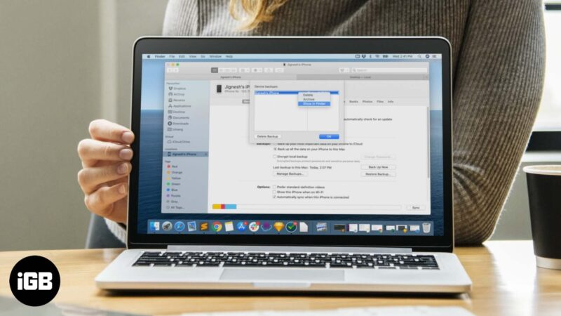 Where are iPhone or iPad Backups Stored on Mac and Windows PC