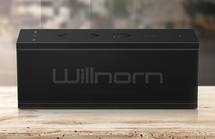 Willnorn Bluetooth Speaker for iPhone and iPad