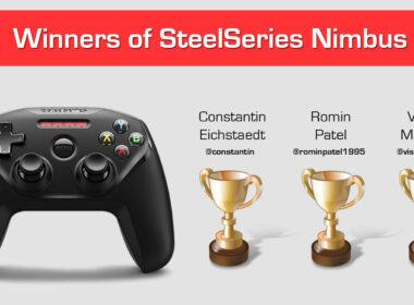 Winners of Steel Series Nimbus