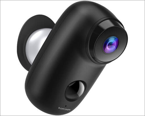 Wireless Outdoor Security Camera from KAMTRON