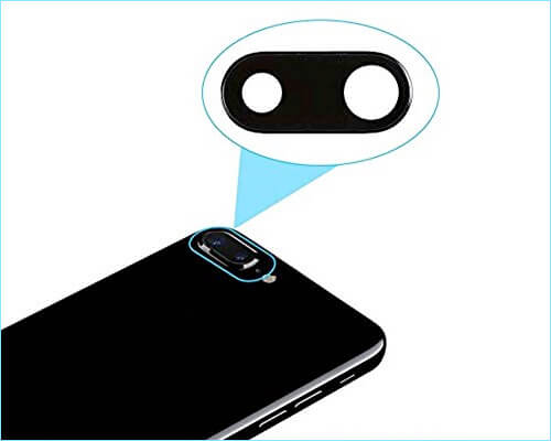 WirelessFinest iPhone 8 Plus Camera Lens Protector