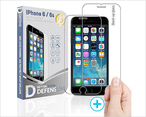 Witkeen Tempered Glass Screen Protector for iPhone 6s