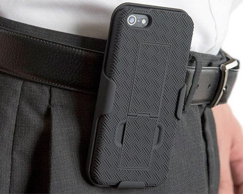 WizGear Belt Clip Holster Case for iPhone SE