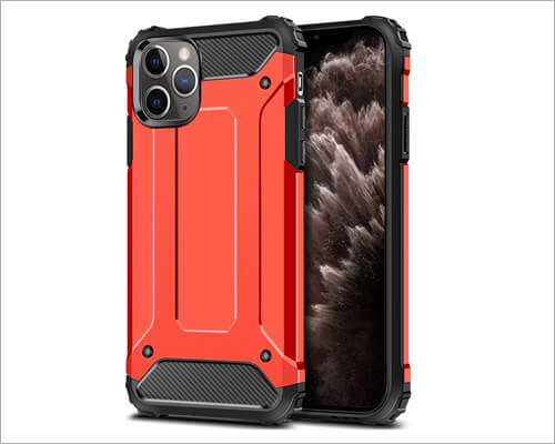 Wollony Heavy Duty Dual Layer Case for iPhone 11 Pro Max
