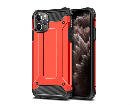 Wollony iPhone 11 Pro Rugged Heavy Duty Case