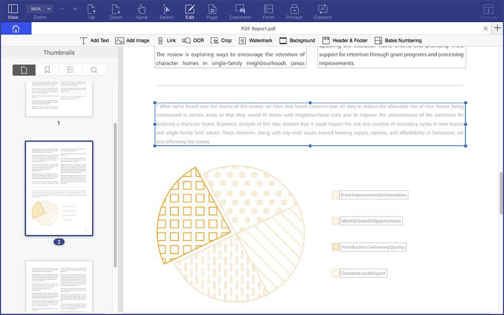 Wondershare PDFelement 6 for Mac and Windows