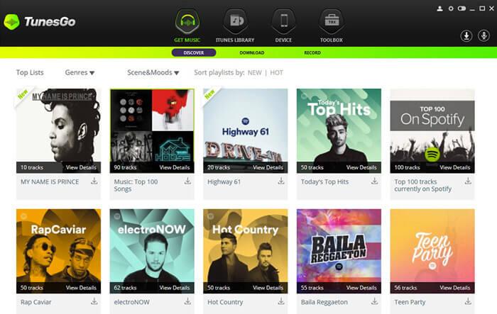 Wondershare TunesGo Software for Mac and Windows