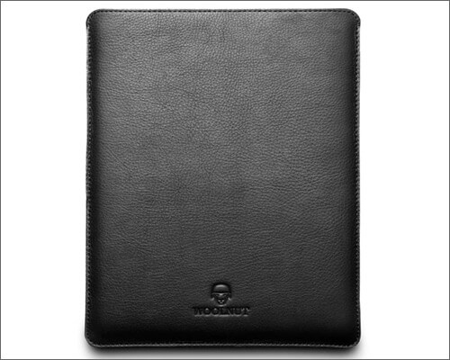 Woolnut Leather and Wool Sleeve Case for iPad Pro 12.9 inch