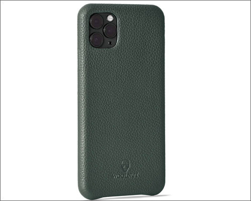 Woolnut iPhone 11 Pro Max Slim Leather Case