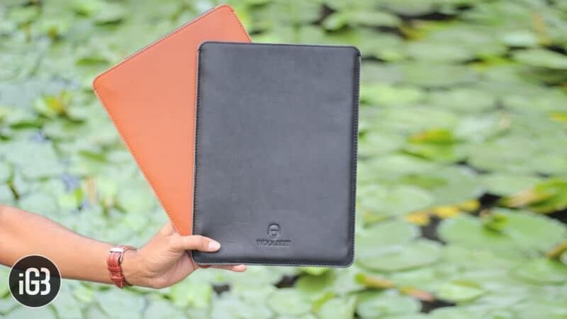 WoolnutCovers MacBook Pro Leather Sleeves